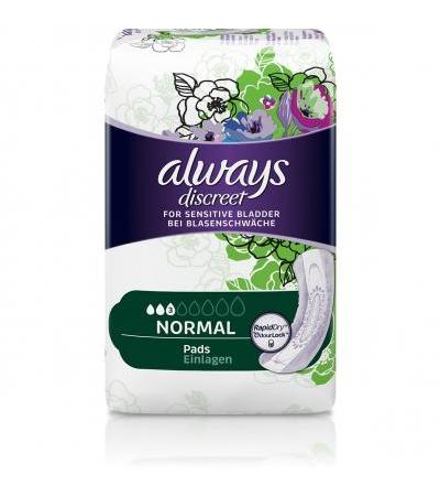 Always Discreet Pro Inkontinenz Einlagen normal - 26 Stk.