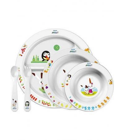 Avent Philips Baby Ess-Lern-Set gross 6M+ - 1 Set