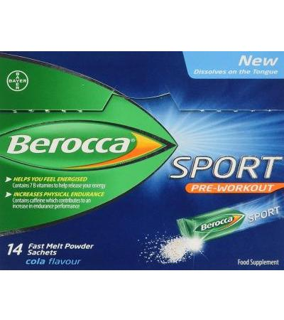 Berocca Sport pre workout - Sticks - 14 Stk.
