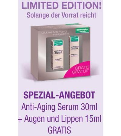 Dermatoline Cosmetic - Lift Effekt Anti-Falten PLUS Volumen-Serum - 30ml + Gratis Lippen-Augenpflege 15ml