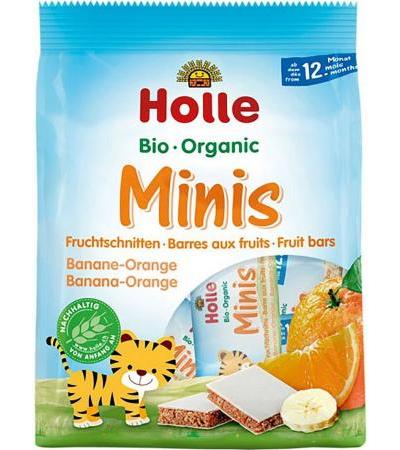 Holle Bio Minis Banane Orange - 100 g