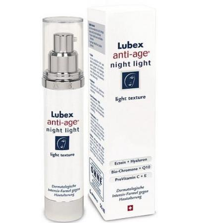 Lubex Anti-Age - Night Nachtpflege LIGHT - 50ml